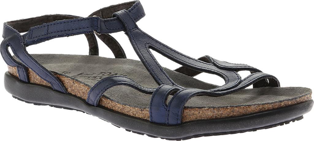 Women's Naot Dorith Sandal, Polar Sea Leather, large, image 1