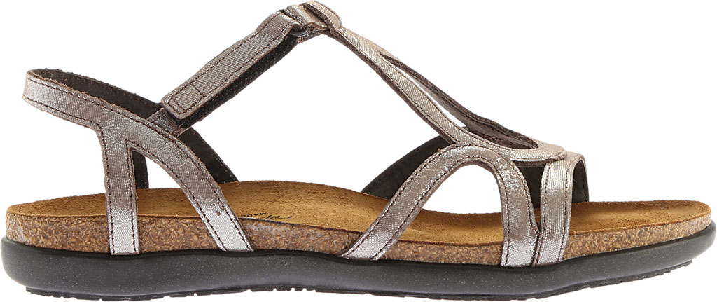 Women's Naot Dorith Sandal, Silver Threads Leather, large, image 2