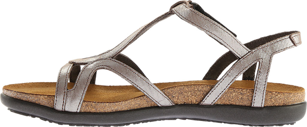 Women's Naot Dorith Sandal, Silver Threads Leather, large, image 3