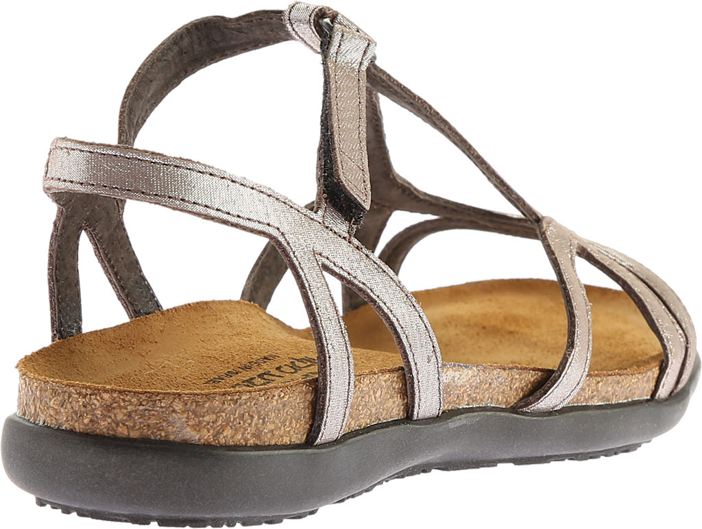 Women's Naot Dorith Sandal, Silver Threads Leather, large, image 4