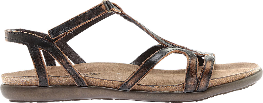 Women's Naot Dorith Sandal, Volcanic Brown Leather, large, image 2
