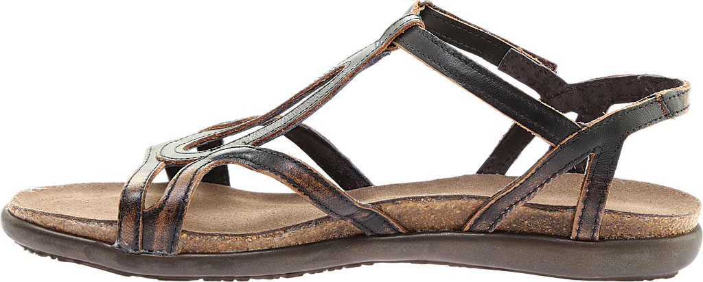 Women's Naot Dorith Sandal, Volcanic Brown Leather, large, image 3