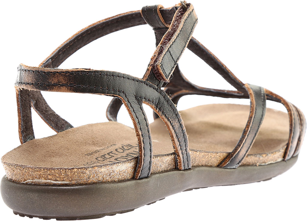 Women's Naot Dorith Sandal, Volcanic Brown Leather, large, image 4