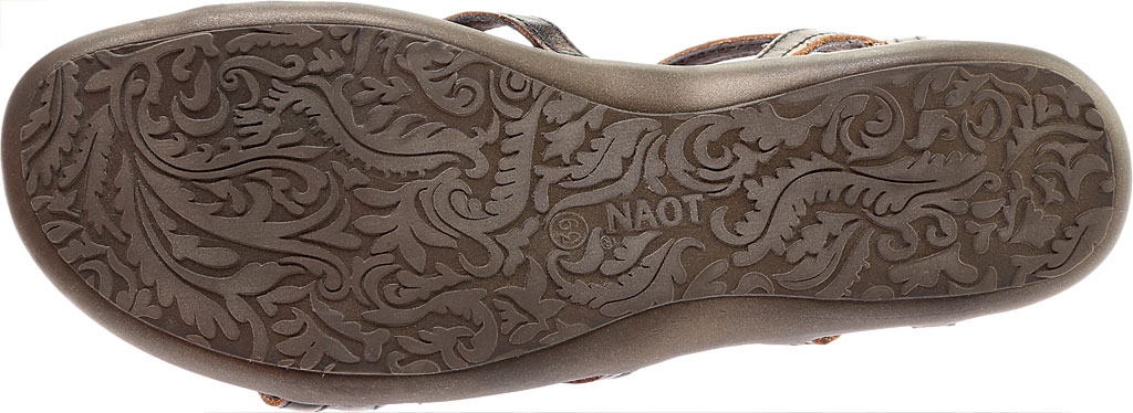 Women's Naot Dorith Sandal, Volcanic Brown Leather, large, image 6