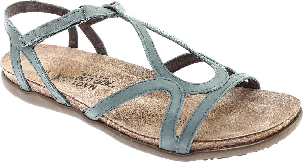 Women's Naot Dorith Sandal, Sea Green Leather, large, image 1