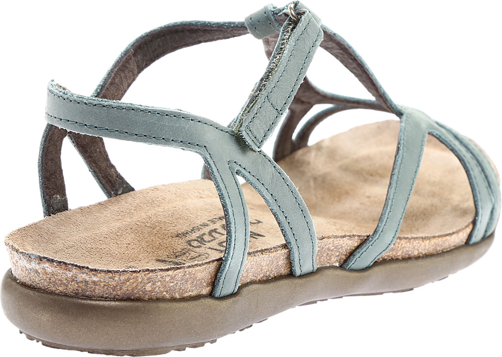 Women's Naot Dorith Sandal, Sea Green Leather, large, image 4