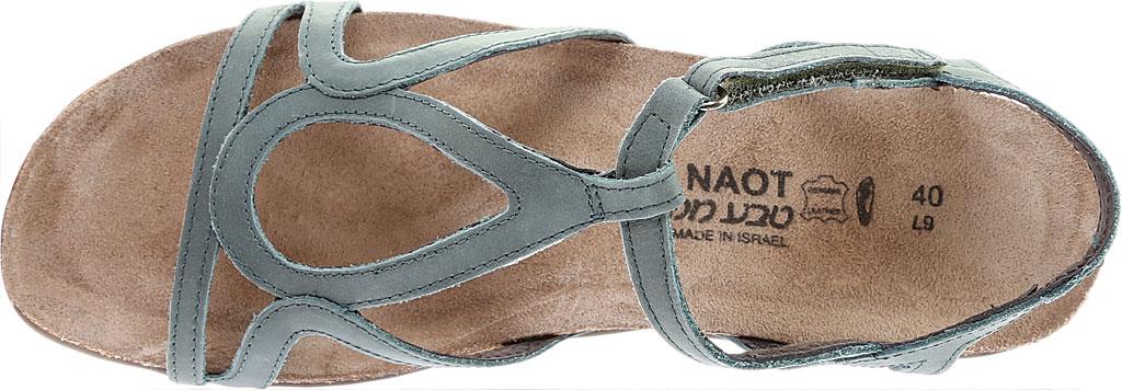 Women's Naot Dorith Sandal, Sea Green Leather, large, image 5