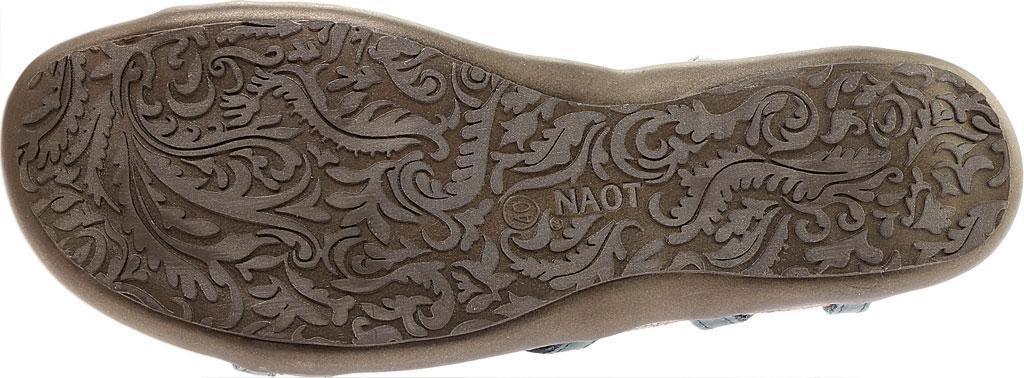 Women's Naot Dorith Sandal, Sea Green Leather, large, image 6