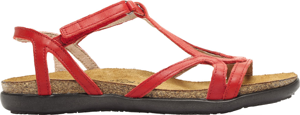 Women's Naot Dorith Sandal, Kiss Red Leather, large, image 2