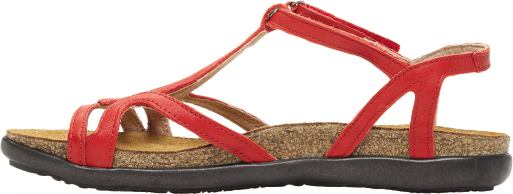 Women's Naot Dorith Sandal, Kiss Red Leather, large, image 3