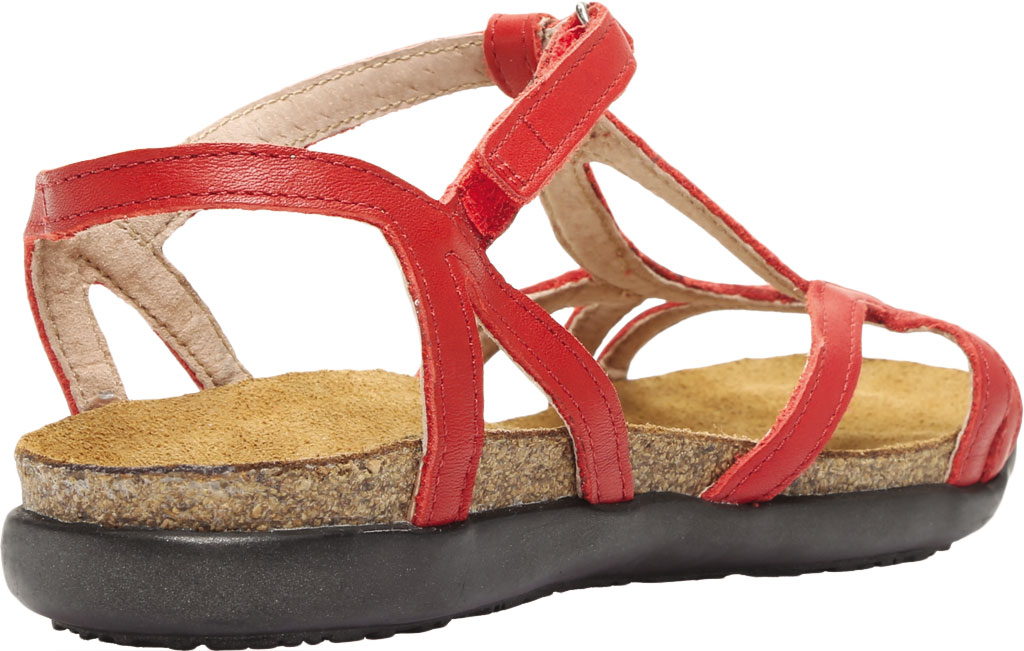 Women's Naot Dorith Sandal, Kiss Red Leather, large, image 4