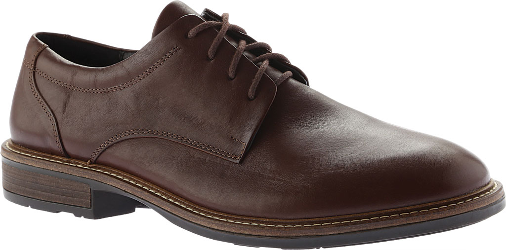 Men's Naot Wisdom, Toffee Brown Leather, large, image 1