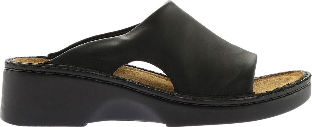 Women's Naot Rome, Black Matte Leather, large, image 2