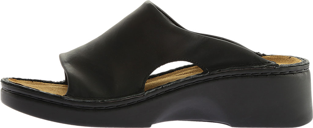Women's Naot Rome, Black Matte Leather, large, image 3
