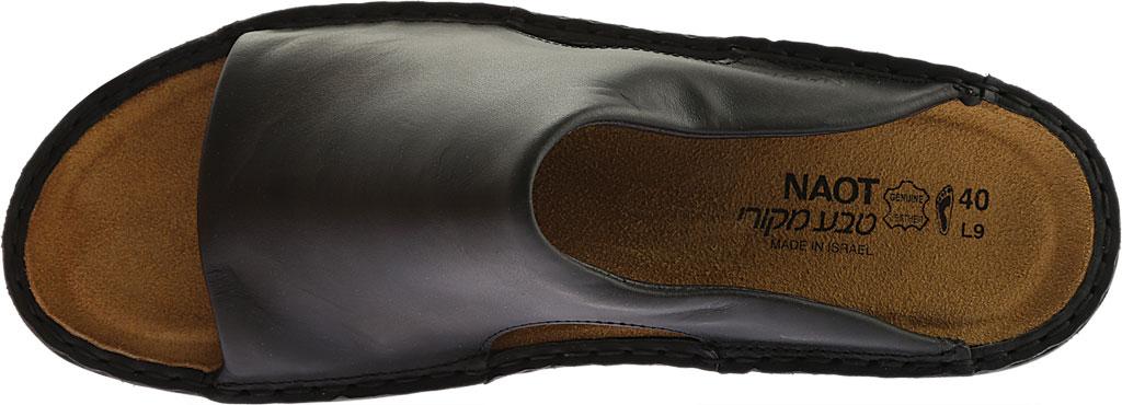 Women's Naot Rome, Black Matte Leather, large, image 5