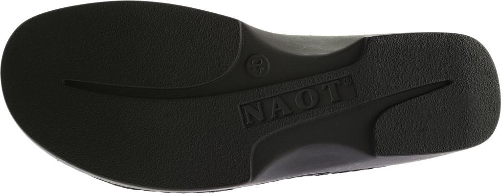 Women's Naot Rome, Black Matte Leather, large, image 6