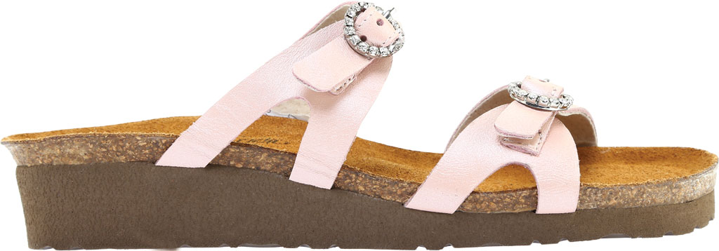 Women's Naot Kate Wedge Slide, Pearl Rose Leather, large, image 2