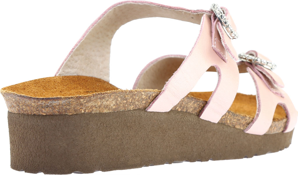 Women's Naot Kate Wedge Slide, Pearl Rose Leather, large, image 4