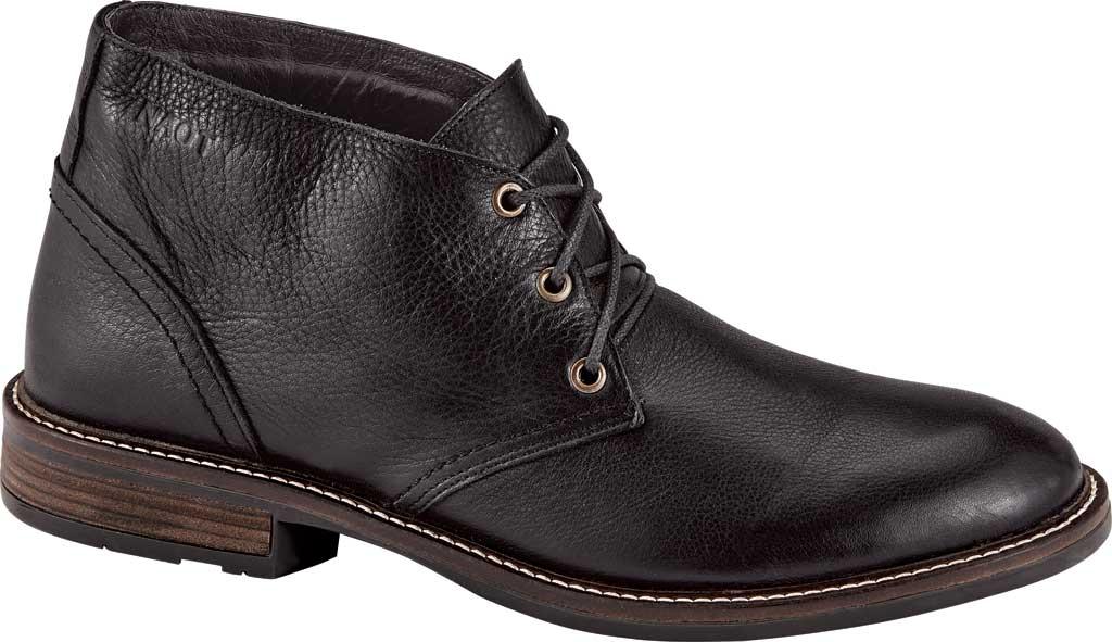 Men's Naot Pilot, Soft Black Leather, large, image 1