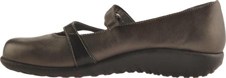 Women's Naot Taranga, Black Madras Leather/Metallic Road Leather, large, image 3
