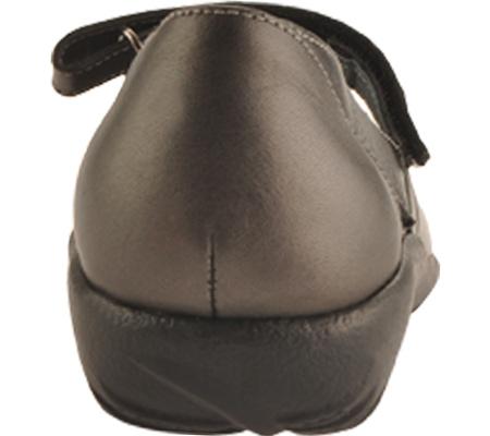 Women's Naot Taranga, Black Madras Leather/Metallic Road Leather, large, image 5