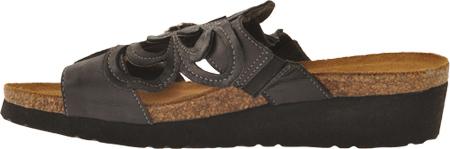 Women's Naot Sandy, Brushed Black Leather, large, image 3