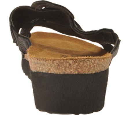 Women's Naot Sandy, Brushed Black Leather, large, image 5