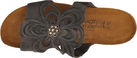 Women's Naot Sandy, Brushed Black Leather, large, image 6