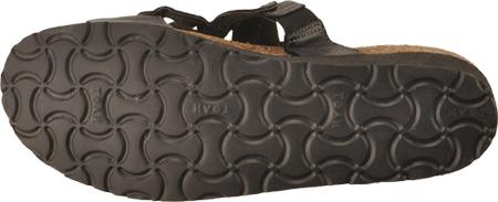 Women's Naot Sandy, Brushed Black Leather, large, image 7