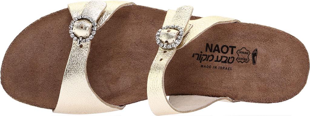 Women's Naot Kate, Radiant Gold Leather, large, image 5