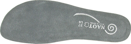 Women's Naot Koru Footbed, Creation Gray, large, image 1