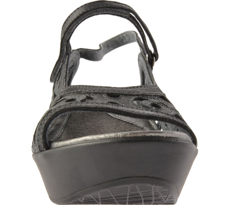 Women's Naot Deluxe, Metallic Road Leather/Brushed Black Leather, large, image 4
