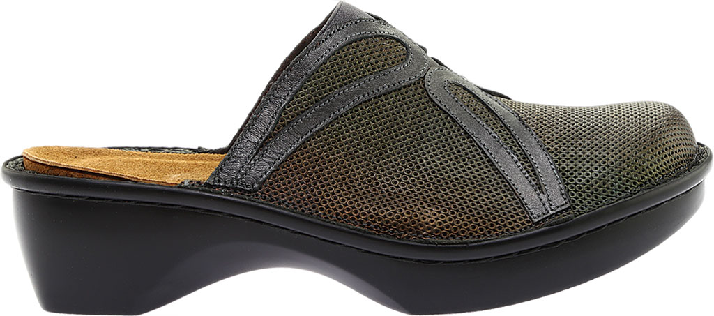 Women's Naot Moldova, Rattlesnake Brown/Metal Road/Tin Gray Leather, large, image 2