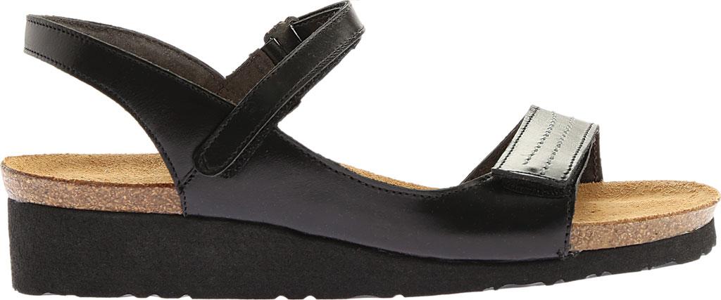 Women's Naot Madison, Black Madras Leather, large, image 2