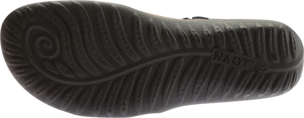 Women's Naot Papaki Sandal, Shiitake Nubuck/Sterling Leather, large, image 6