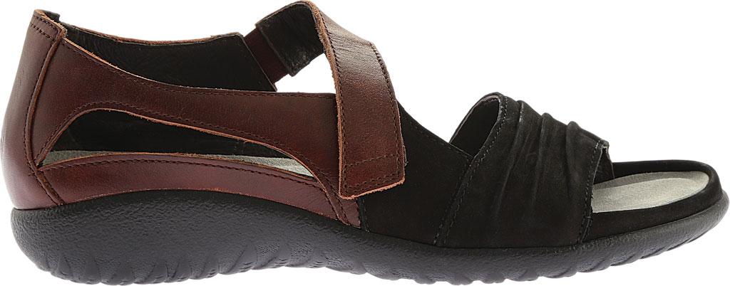 Women's Naot Papaki Sandal, Stone/Beige Nubuck/Lizard Leather, large, image 2