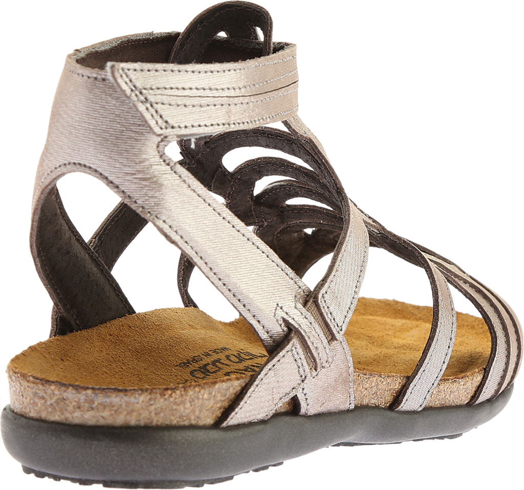 Women's Naot Sara, Silver Threads Leather, large, image 4