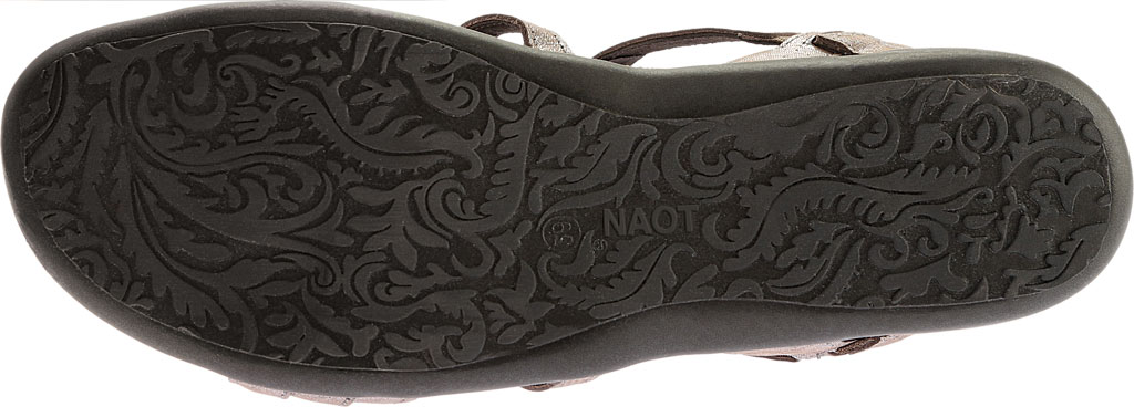 Women's Naot Sara, Silver Threads Leather, large, image 6