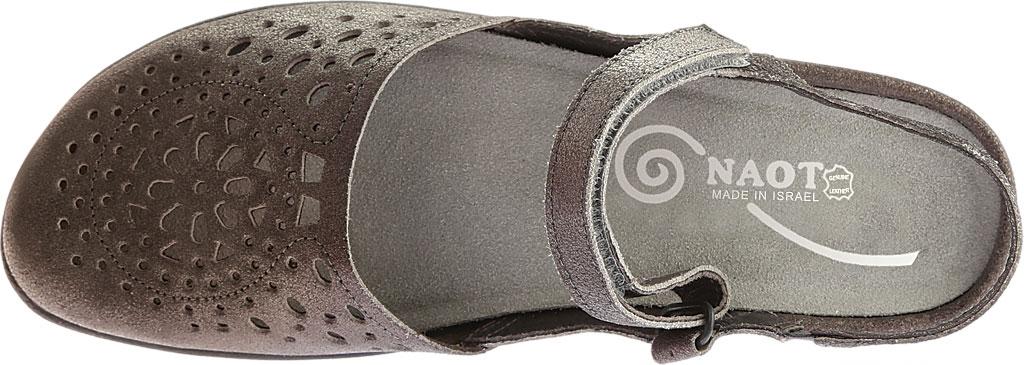 Women's Naot Arataki, Gray Shimmer Leather, large, image 5