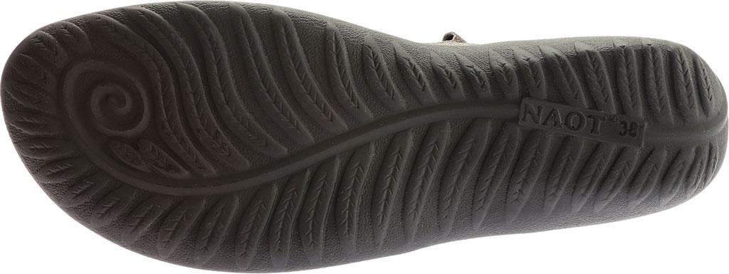 Women's Naot Arataki, Gray Shimmer Leather, large, image 6