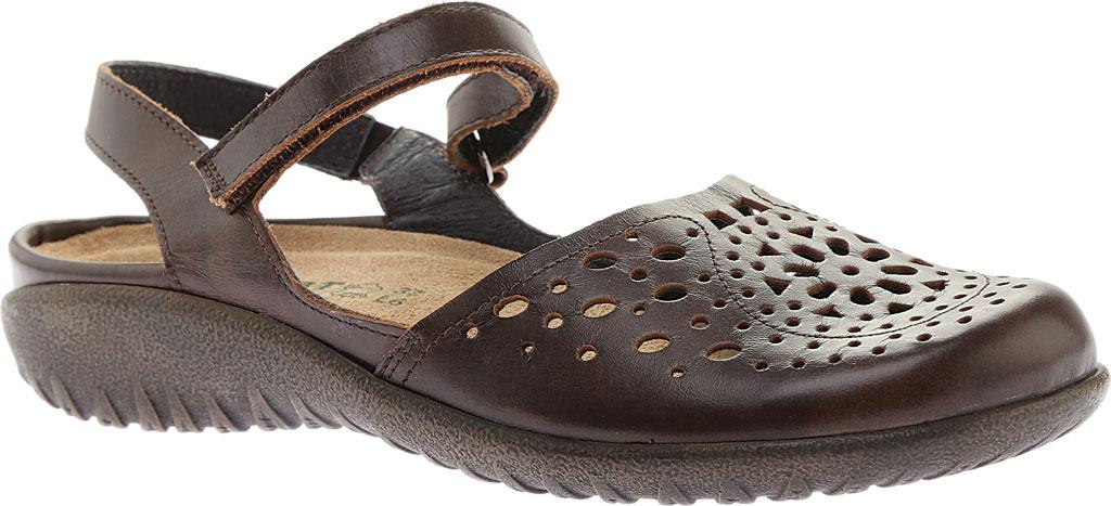 Women's Naot Arataki, Pecan Brown Leather, large, image 1