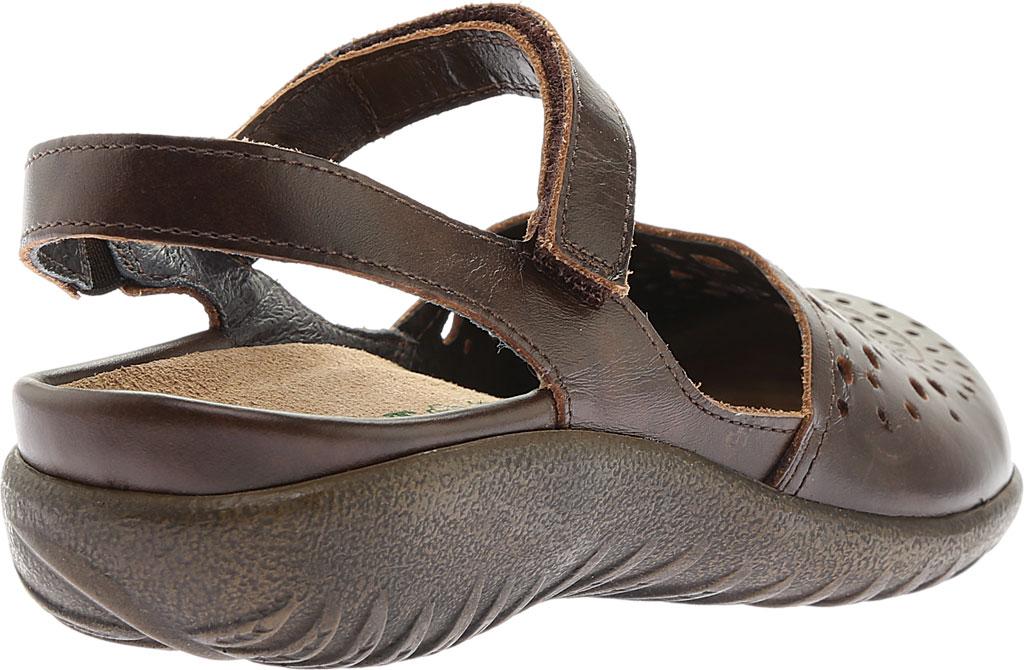 Women's Naot Arataki, Pecan Brown Leather, large, image 4