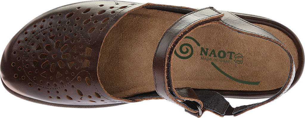 Women's Naot Arataki, Pecan Brown Leather, large, image 5