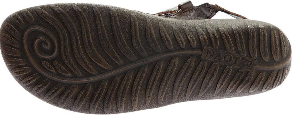 Women's Naot Arataki, Pecan Brown Leather, large, image 6
