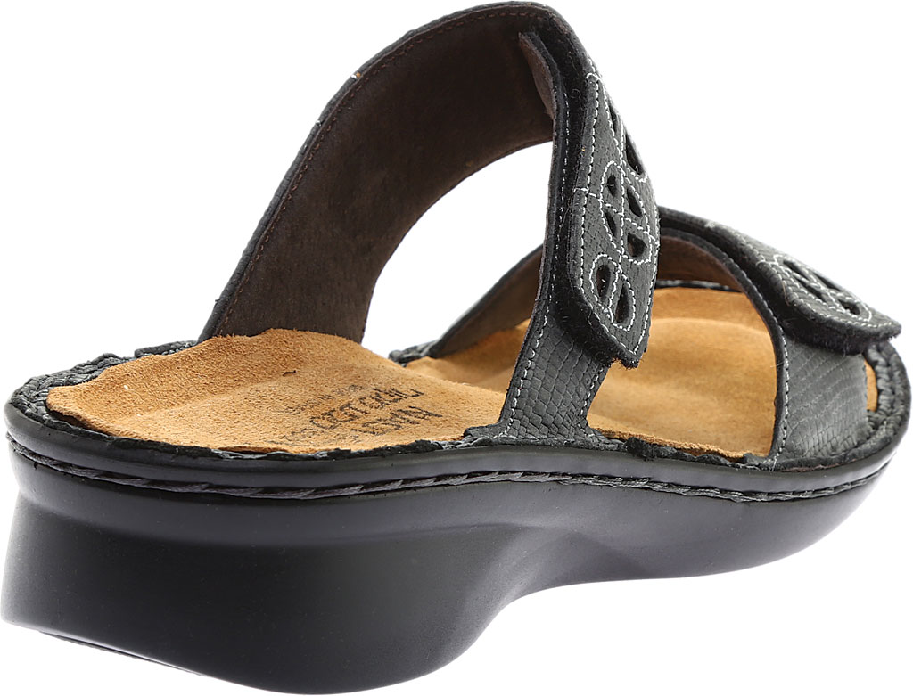 Women's Naot Cornet, Reptile Grey Leather/Glass Brown, large, image 4