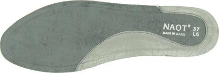 Women's Naot Aura Footbeds, Aura Silver, large, image 1