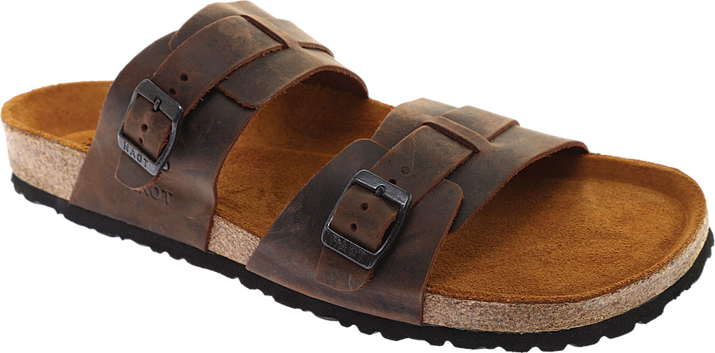 Men's Naot Santa Cruz Sandal, Crazy Horse Leather, large, image 1