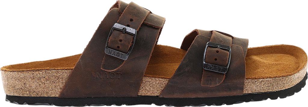 Men's Naot Santa Cruz Sandal, Crazy Horse Leather, large, image 2