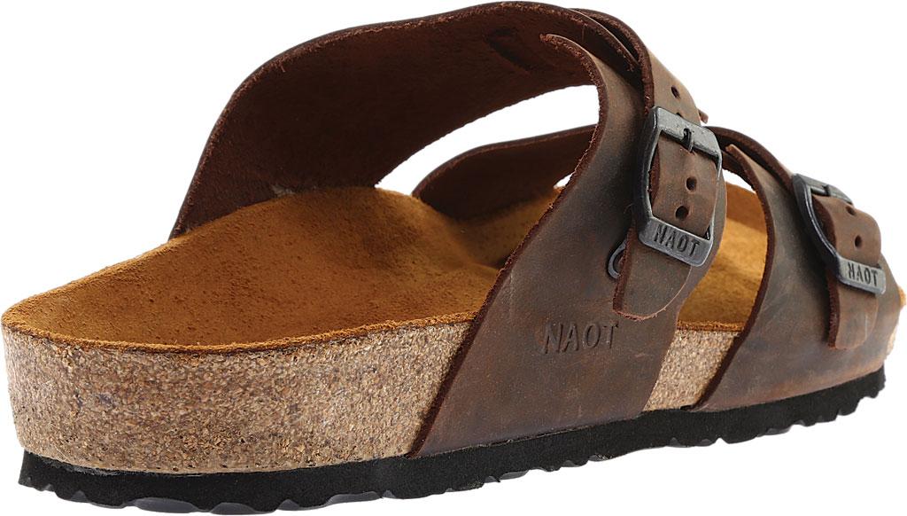 Men's Naot Santa Cruz Sandal, Crazy Horse Leather, large, image 4