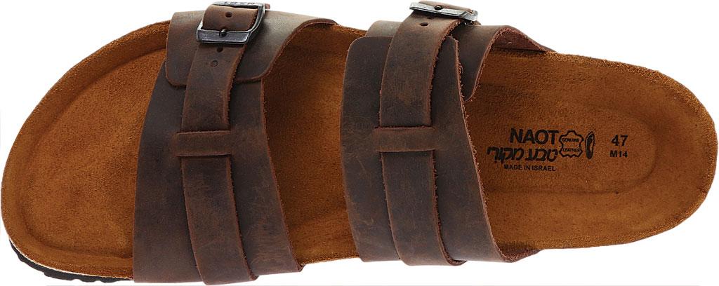 Men's Naot Santa Cruz Sandal, Crazy Horse Leather, large, image 5